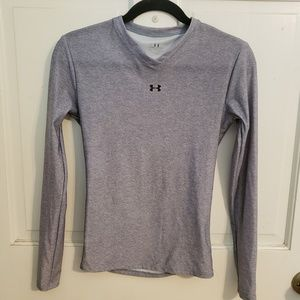 Under Armour gray long sleeve shirt